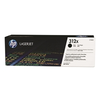 HP 312X High Yield LaserJet Black Toner Cartridge