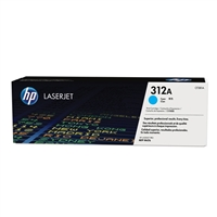 HP 312A LaserJet Cyan Toner Cartridge