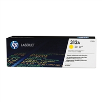 HP HP 312A LaserJet Yellow Toner Cartridge
