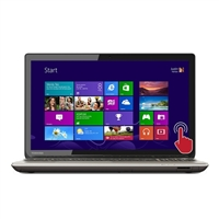 "Toshiba Satellite P55T-B5262 15.6"" Laptop Computer - Brushed Aluminum Finish in Satin Gold"