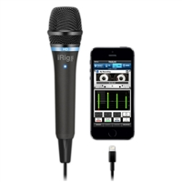 IK Multimedia Digital MIcrophone for iOS and Android Devices