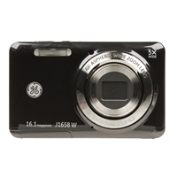GE J1658W 16.1 Megapixel Digital Smart Camera - Black