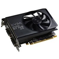EVGA GeForce GT 740 Superclocked 4GB PCI-Express Video Card