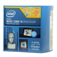 Intel Core i5-4690K Haswell 3.5GHz LGA 1150 Boxed Processor