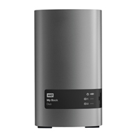 "Western Digital 4 TB (2 x 2TB) USB 3.0 My Book Duo 3.5"" External Hard Rive"