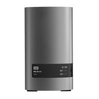 "WD MY BOOK DUO 6TB (2x3TB) 7,200 RPM SuperSpeed USB 3.0 3.5"" External RAID Hard Disk Drive"