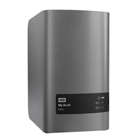 "WD My Book Duo 8TB (2 x 4TB) SuperSpeed USB 3.0 3.5"" RAID External Hard Drive WDBLWE0080JCHNE"
