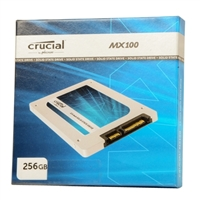 "Crucial MX100 Series 256GB SATA 2.5"" Internal Solid State Drive CT256MX100SSD1"