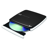 LG Super Multi Blue Portable with 3D Blu-ray Disc Playback and M-Disc Support Refurbished - CP40NG10