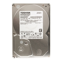 "Toshiba 2TB 7200 RPM SATA 6Gb/s 3.5"" Internal Hard Drive DT01ACA200 - Bare Drive"