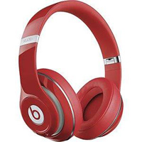Beats by Dr. Dre Studio Wireless 2.0 On Ear Headphones - Red