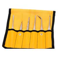 Aven 6-Piece Tweezer Set