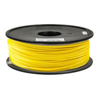 Inland 1.75mm Yellow ABS 3D Printer Filament - 1kg Spool (2.2 lbs)