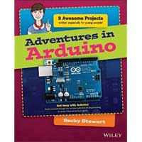 Wiley Adventures in Arduino, 1st Edition