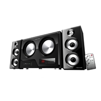 Eagle Technologies 2.2 Channel Subwoofer PC Speaker System w/ Remote