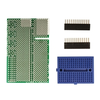 Schmartboard Inc. Raspberry Pi Prototyping Shield with Headers and Breadboard