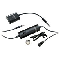 Audio Technica Omnidirectional Condenser Lavalier Microphone for Smartphones