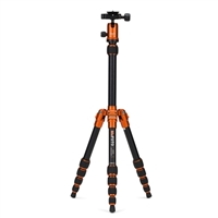 Mac Group MeFOTO BackPacker Travel Tripod Kit - Orange
