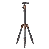 Mac Group MeFOTO Backpacker Travel Tripod Kit - Chocolate