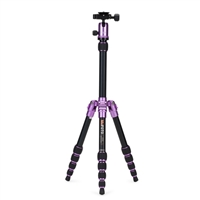 Mac Group MeFOTO Backpacker Travel Tripod Kit - Purple