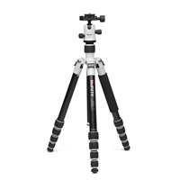 Mac Group MeFOTO Roadtrip Travel Tripod Kit - White