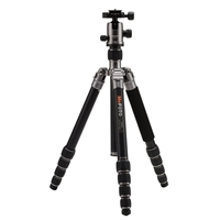 Mac Group MeFOTO GlobeTrotter Travel Tripod Kit - Titanium