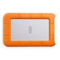 LaCie Rugged 500GB USB 3.0 Thunderbolt Series External Solid State Drive