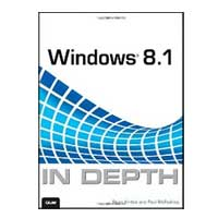 Pearson/Macmillan Books WINDOWS 8.1 IN DEPTH