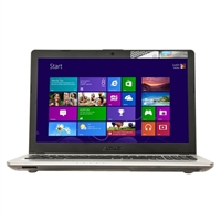 "ASUS N56JK-MB71 15.6"" Laptop Computer - Black Aluminum"