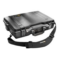 Pelican Black Laptop Case with Foam - 1495