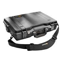 Pelican Black Laptop Case with Foam - 1495