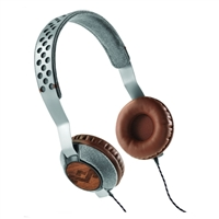 House of Marley Liberate On Ear Headphones - Saddle