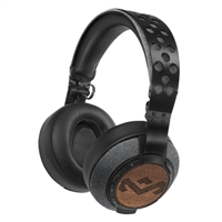 House of Marley Liberate XLBT Bluetooth On Ear Headphones - Midnight