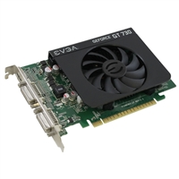 EVGA GeForce GT 730 2GB DDR3 PCIe Video Card