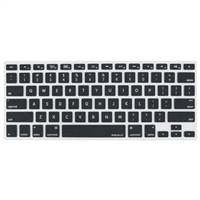 MacAlly Protective Cover for Macbook Pro, Macbook Air and most Mac keyboards Black