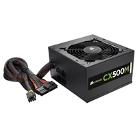 Corsair CX Series CX500M 500 Watt ATX Modular Power Supply Refurbished