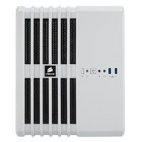 Corsair Carbide Series Air 240 High Airflow MicroATX & Mini-ITX PC Case - White