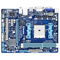 Gigabyte GA-F2A55M-HD2 Socket FM2 A55 mATX AMD Motherboard REfurbished