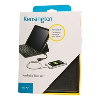 Kensington KeyFolio Thin X3 for iPad Air - Black