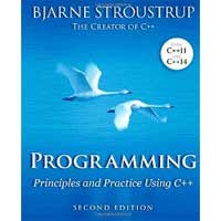 Pearson/Macmillan Books Programming: Principles and Practice Using C++, 2nd Edition
