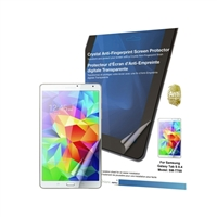 Green Onions Supply Crystal Anti-Fingerprint Screen Protector for Samsung Galaxy Tab S 8.4 SM-T700 - 1 Pack