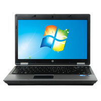 "HP ProBook 6455B Windows 7 Professional 14"" Laptop Computer Refurbished - Silver"