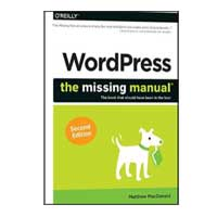 O'Reilly WORDPRESS MISSING MANUAL