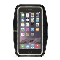 Griffin Trainer Armband for iPhone 6 Plus - Black