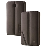 Chil Inc Notchbook SE Leather Folio for Samsung Galaxy Tab 4 7.0 - Black