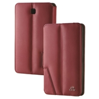 Chil Inc Notchbook SE Leather Folio for Samsung Galaxy Tab 4 7.0 - Burgundy