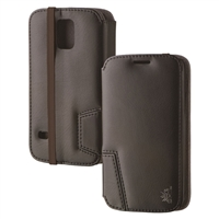 Chil Inc Notchbook SE Leather Folio for Samsung Galaxy S5 - Black