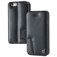 Chil Inc Notchbook SE Leather Folio For iPhone 6 - Black
