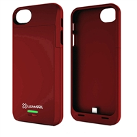Lenmar Meridian Battery Powered Case for iPhone 5/5s - Red