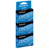 Sony 60-min DVC Premium 3-Pack